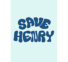 Once Upon a Time - Save Henry Photographic Print