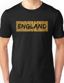 England - Gold and Black (T-shirt, Phone Case & more)  Unisex T-Shirt
