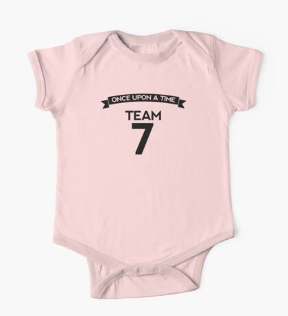 Once Upon a Time - Team 7 - Front Dark One Piece - Short Sleeve