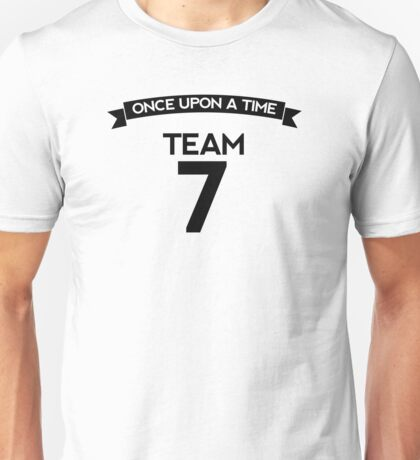Once Upon a Time - Team 7 - Front Dark Unisex T-Shirt