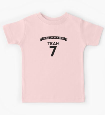 Once Upon a Time - Team 7 - Back Dark Kids Tee