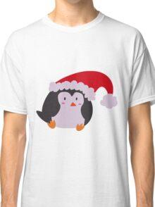 Christmas Hat Penguin Classic T-Shirt