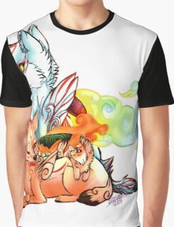 Okami: The Wolves Of The Brush Graphic T-Shirt