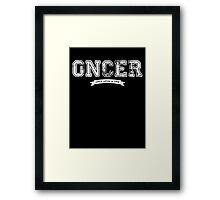 Once Upon a Time - Oncer Framed Print