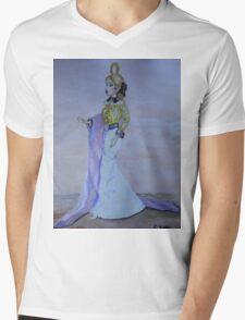 Barbie Millicent Roberts Mens V-Neck T-Shirt