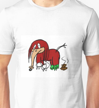 Knuckles The Echidna Elephant Edition Unisex T-Shirt