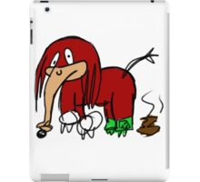 Knuckles The Echidna Elephant Edition iPad Case/Skin