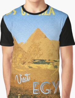 Vintage Style Travel Poster Graphic T-Shirt