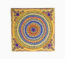 Mandala Hand Painted Dots - Colourful Unisex T-Shirt
