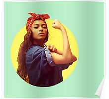 Beyonce - We Can Do It Pose #beehive #beyonce #lemonade Poster