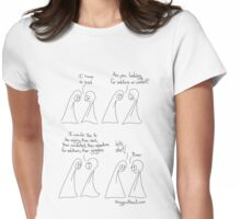 A Sad (Raaar) - Things Without Womens Fitted T-Shirt