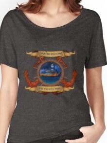 Sailors Don't Die  Women's Relaxed Fit T-Shirt