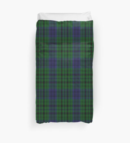 00435 Bailey Atlanta National Tartan  Duvet Cover