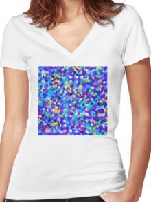 Fuzzy Women's Fitted V-Neck T-Shirt