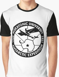 miskatonic university antarctic expedition  Graphic T-Shirt