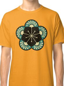 Geometric Heliconia Fan Pattern Classic T-Shirt