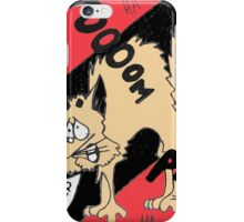 Scared Kitty iPhone Case/Skin