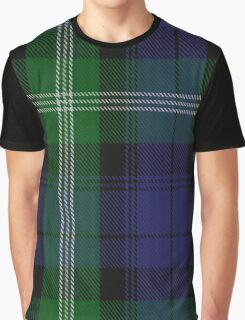 00440 Baillie of Polkemment Clan/Family Tartan  Graphic T-Shirt