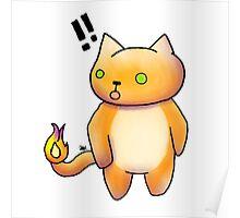 charmander kitty Poster