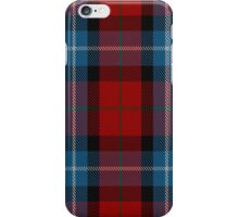 00441 Baillie of Polkemment Red Clan/Family Tartan iPhone Case/Skin