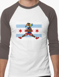 Chi Guy Men's Baseball ¾ T-Shirt