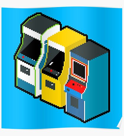 Arcade 80s Poster