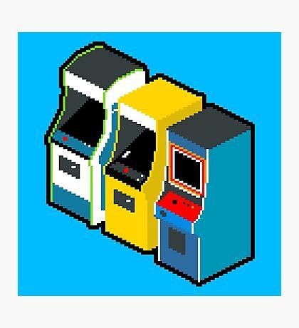 Arcade 80s Photographic Print