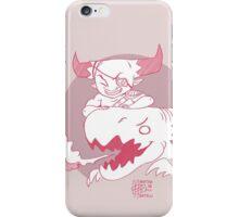 Chibi Iron Bull and his Dragon!  iPhone Case/Skin