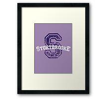 Storybrooke - Purple Framed Print