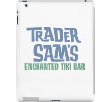 Tiki Bar Logo iPad Case/Skin