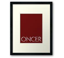 Oncer - Once Upon a Time Framed Print