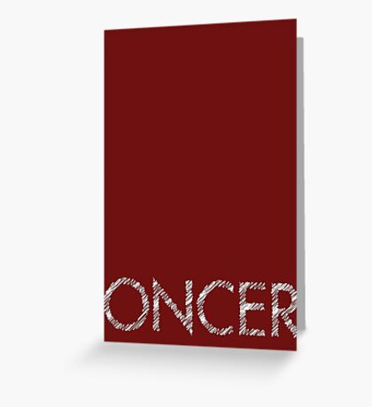 Oncer - Once Upon a Time Greeting Card