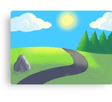 Sunny Valley  Canvas Print