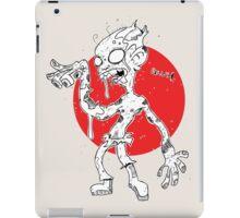 """GLUH"" said the zombie. iPad Case/Skin"