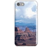 The view from Dead Horse Point, Moab Utah iPhone Case/Skin