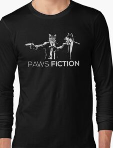 Paws Fiction Long Sleeve T-Shirt