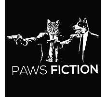 Paws Fiction Photographic Print