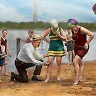 Beach - Cop a feel 1922 by Mike  Savad