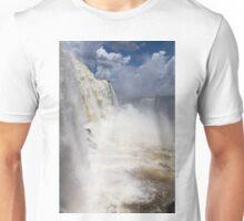 Waterfall near Tower at Foz do Iguacu - Brazilian Side Unisex T-Shirt
