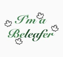 Once Upon a Time - I'm a Beleafer One Piece - Short Sleeve