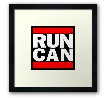 Canada RUN-DMC Style Design - Hip Hop Framed Print