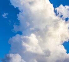 Cumulonimbus Clouds over Foz do Iguacu, Brazil Sticker
