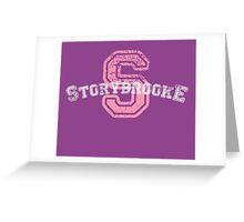 Storybrooke - Purple Greeting Card