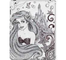 Monochrome Princess A iPad Case/Skin