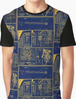MELBOURNE SHARE Graphic T-Shirt