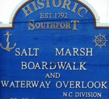 Marsh Walk Sticker