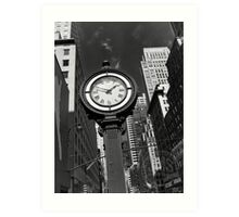 Seth Thomas Street Clock Art Print