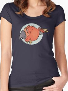 Tropical Parrot Fish Women's Fitted Scoop T-Shirt