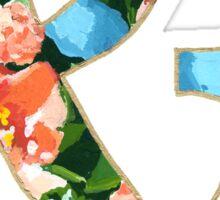 Floral Spring Ampersand Sticker