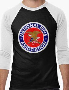 NRA - National Rifle Association Men's Baseball ¾ T-Shirt